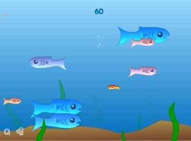 دانلود بازی فلش ماهی کوچک (fishy)