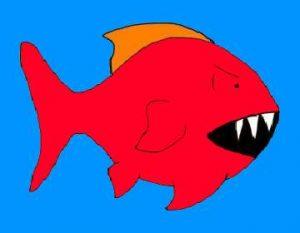 آیا ماهی قرمز دندان دارد؟